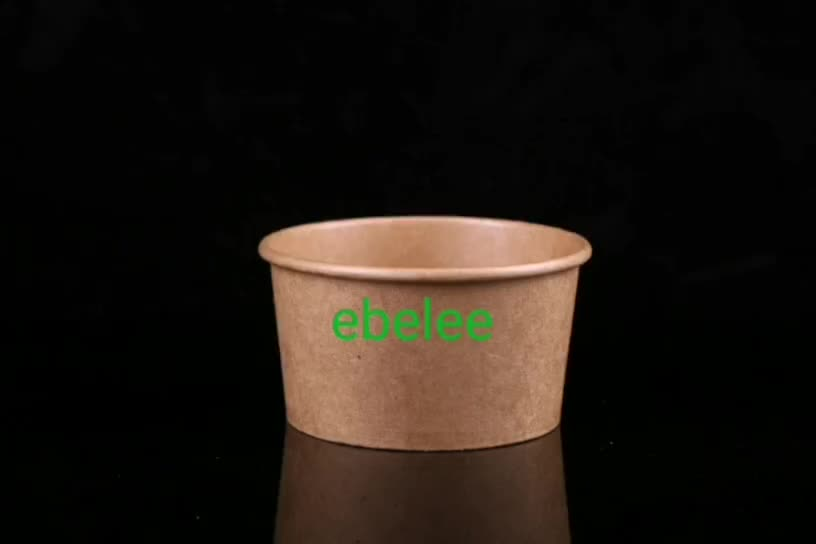 40oz 1200cc Disposable Kraft Paper bowl
