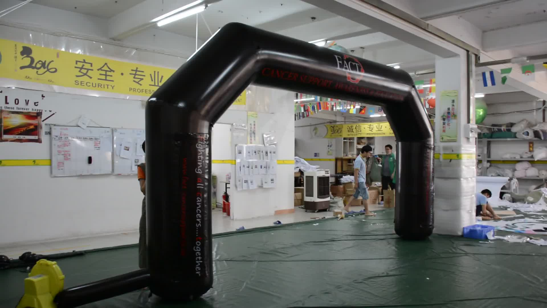 Hot Sale Customized Inflatable Finish Line Arch