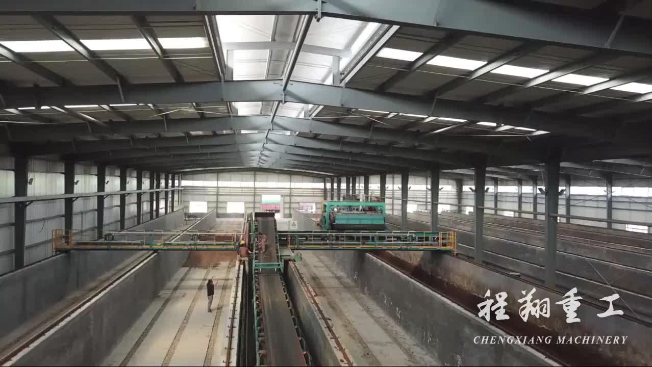 कृषि अपशिष्ट खाद मशीन उपकरण एरोबिक किण्वन नाली हाइड्रोलिक मोबाइल खाद टर्नर