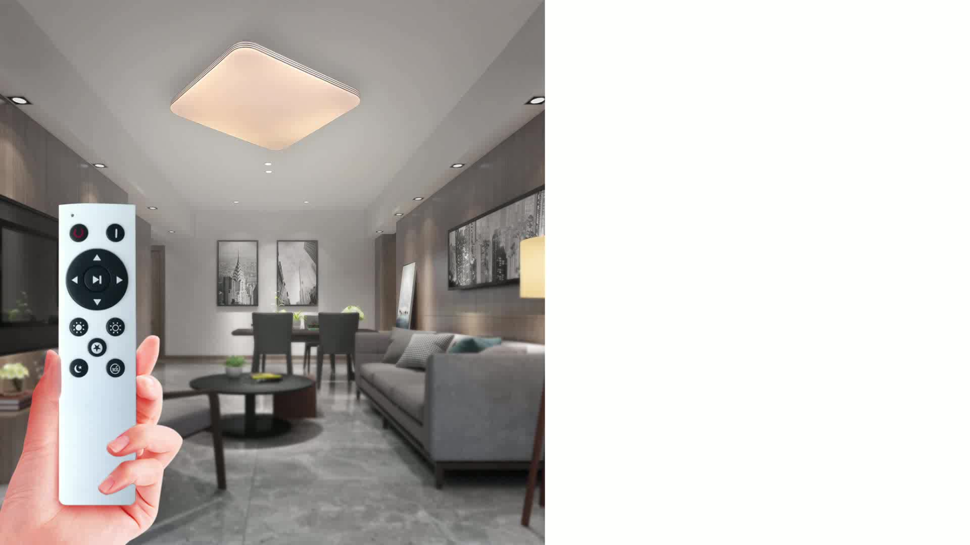 Envis got selling surface mounted rectangular recessed led ceiling lights 120mm hole diameter downlight square