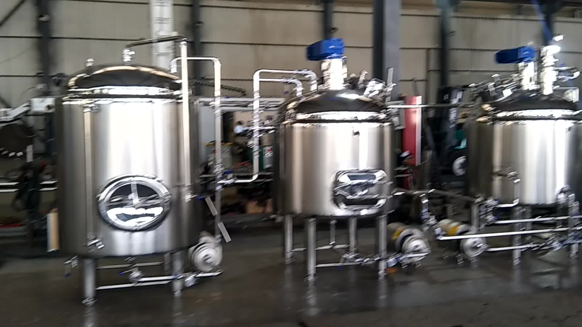 KUNBO Commercial Craft Beer Brewery Equipment Beer Fermentation Tank for Sale