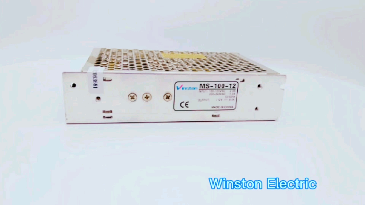 Manufacturer S-60 Single 60W 5V 12V 15V 24V DC LED Power Supply