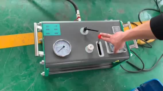 PVDF Pipes Hydraulic Butt Fusion Welding Machine for Direct Sale