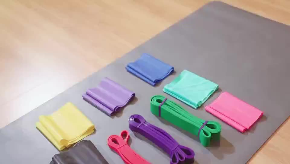 Best selling body building slimming fitness band,yoga elastic band