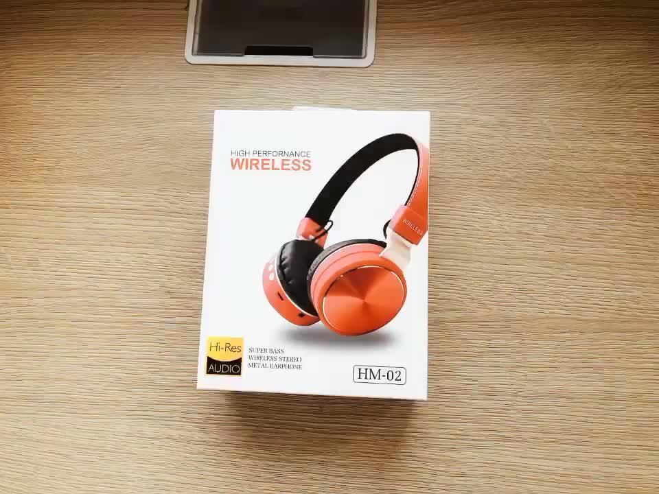 Handsfree sports microphone over ear headband earphones with mic gamer wireless headphone bluetooth headset