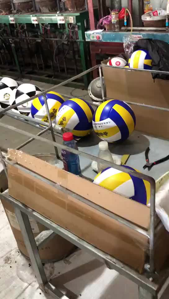 Free Sample OEM Volleyball Official Size 5 Customized Beach Volleyball PVC PU Leather Laminated Volleyball