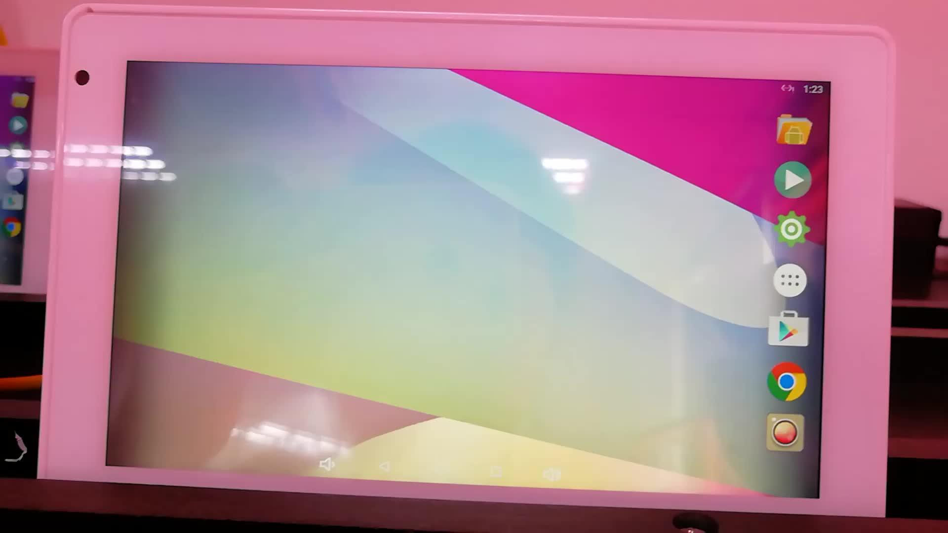 """7 """"Wall Mount Máy Tính Bảng Android PoE Với Tuya Ứng Dụng Cho Domotics"""