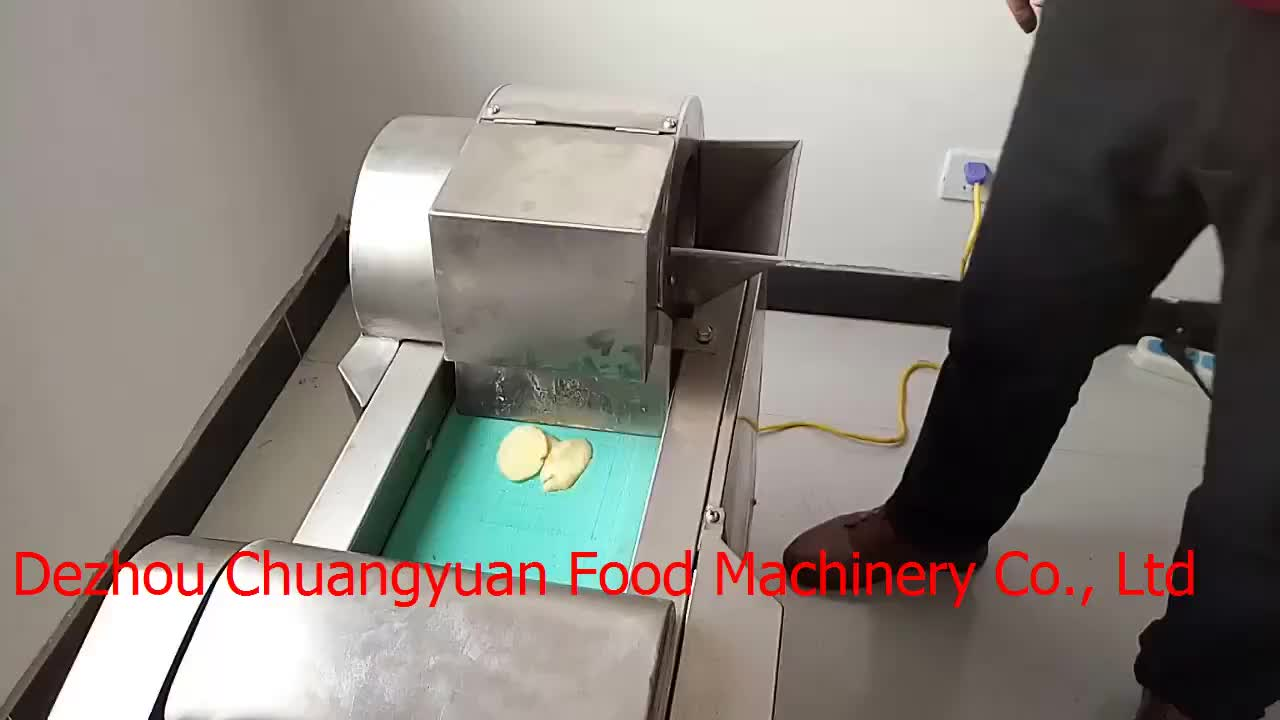 Multifunctional Carrot Slicing Machine / Food slicing / dicing / cutting machine used for Cabbage mustard greens, spinach