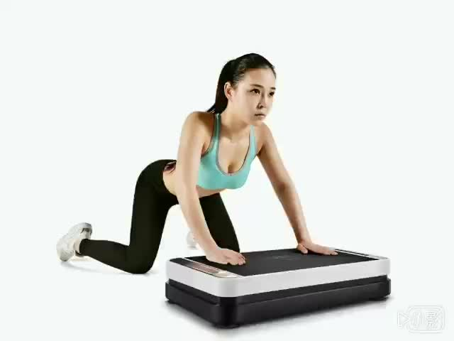 Fitness Whole Body Shaper Exercise oscillation vertical vibration plate machine
