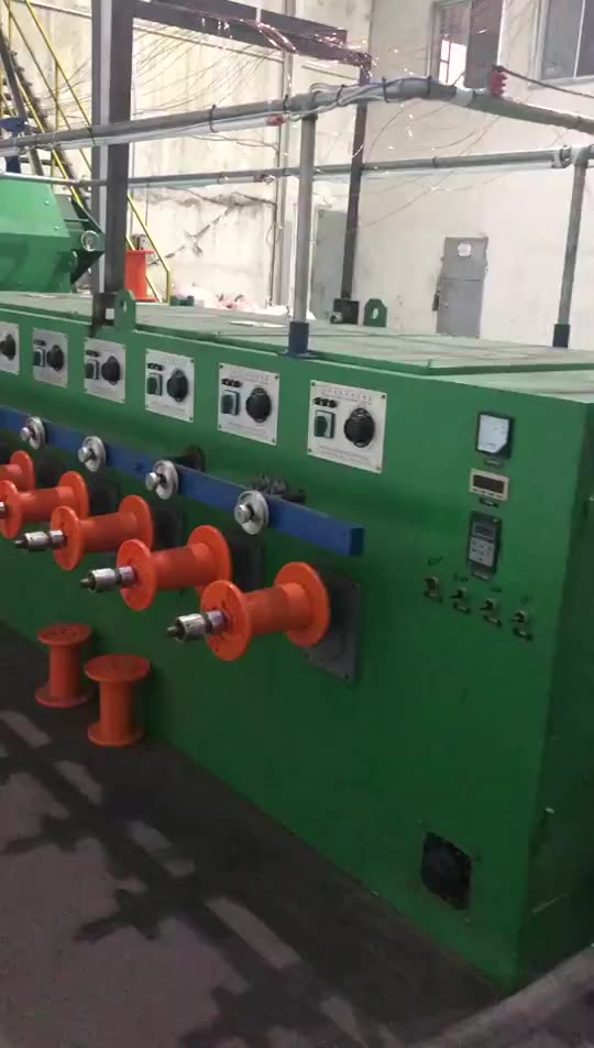 enameled copper wire product production line