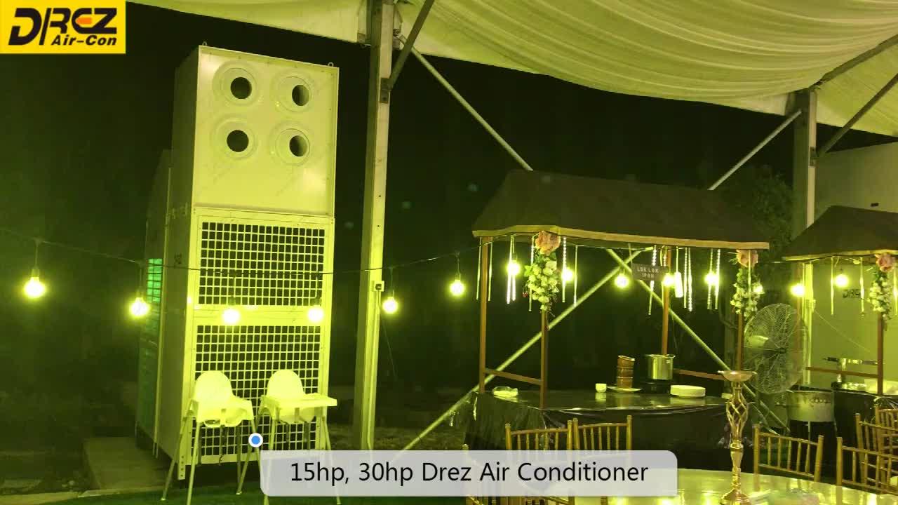 30 HP Tenda AC Air Conditioner untuk Luar Ruangan Besar Pernikahan Hall