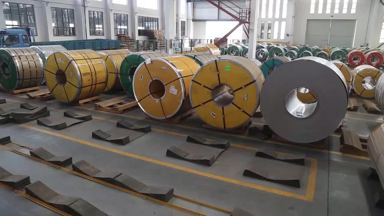 Large Stock 304 cold rolled stainless steel coil