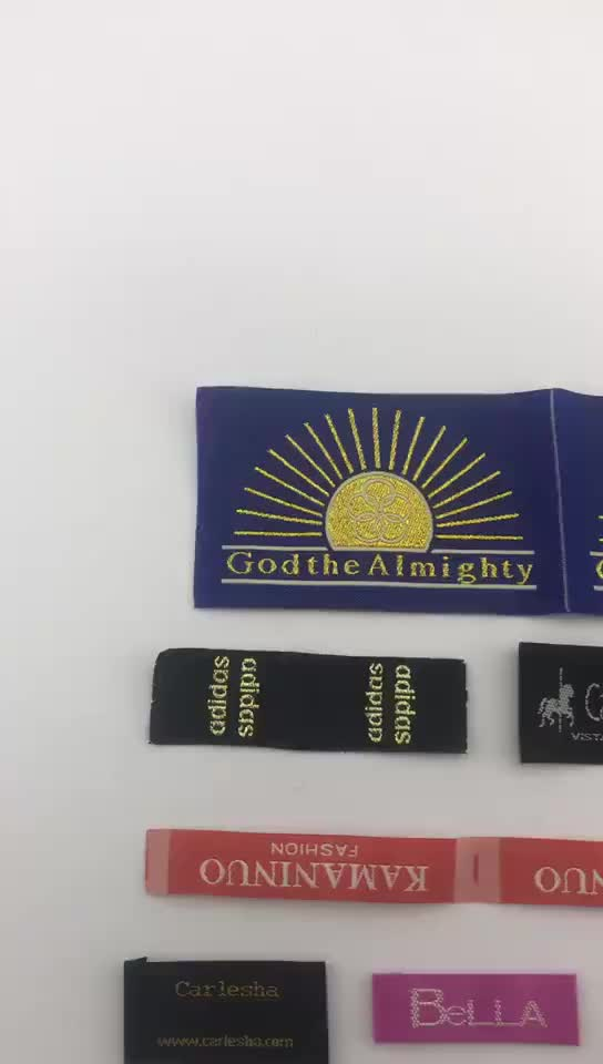 Custom China Factory Manufacture Garment Clothing 짠 label
