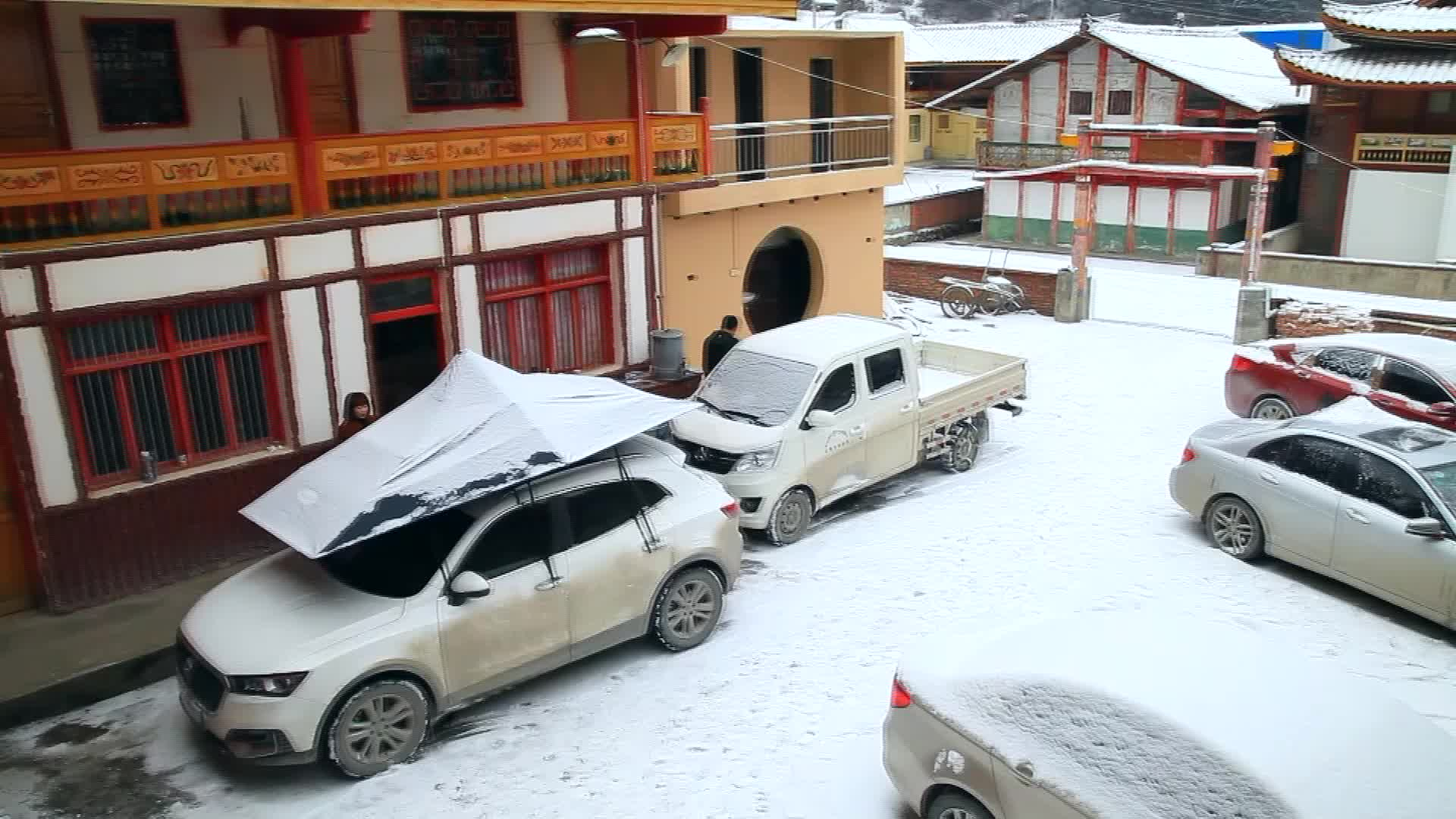 Kablosuz Katlanabilir Otomatik Cam Şemsiye Dolu Koruma Buz Don Geçirmez Kar araba kılıfı