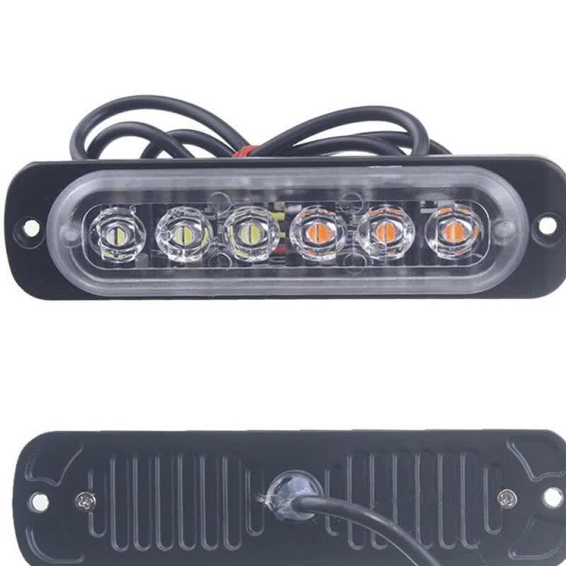Auto licht Bernstein 6 LED Auto Lkw Notfall Beacon Warnung Gefahr Flash Strobe Licht sep23