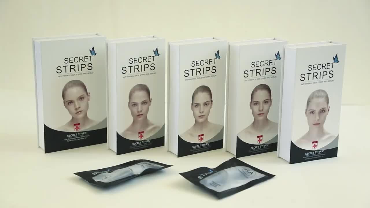Private Label Skin Care Anti Nasolabial Folds Facial Patches Korea Facial Mask