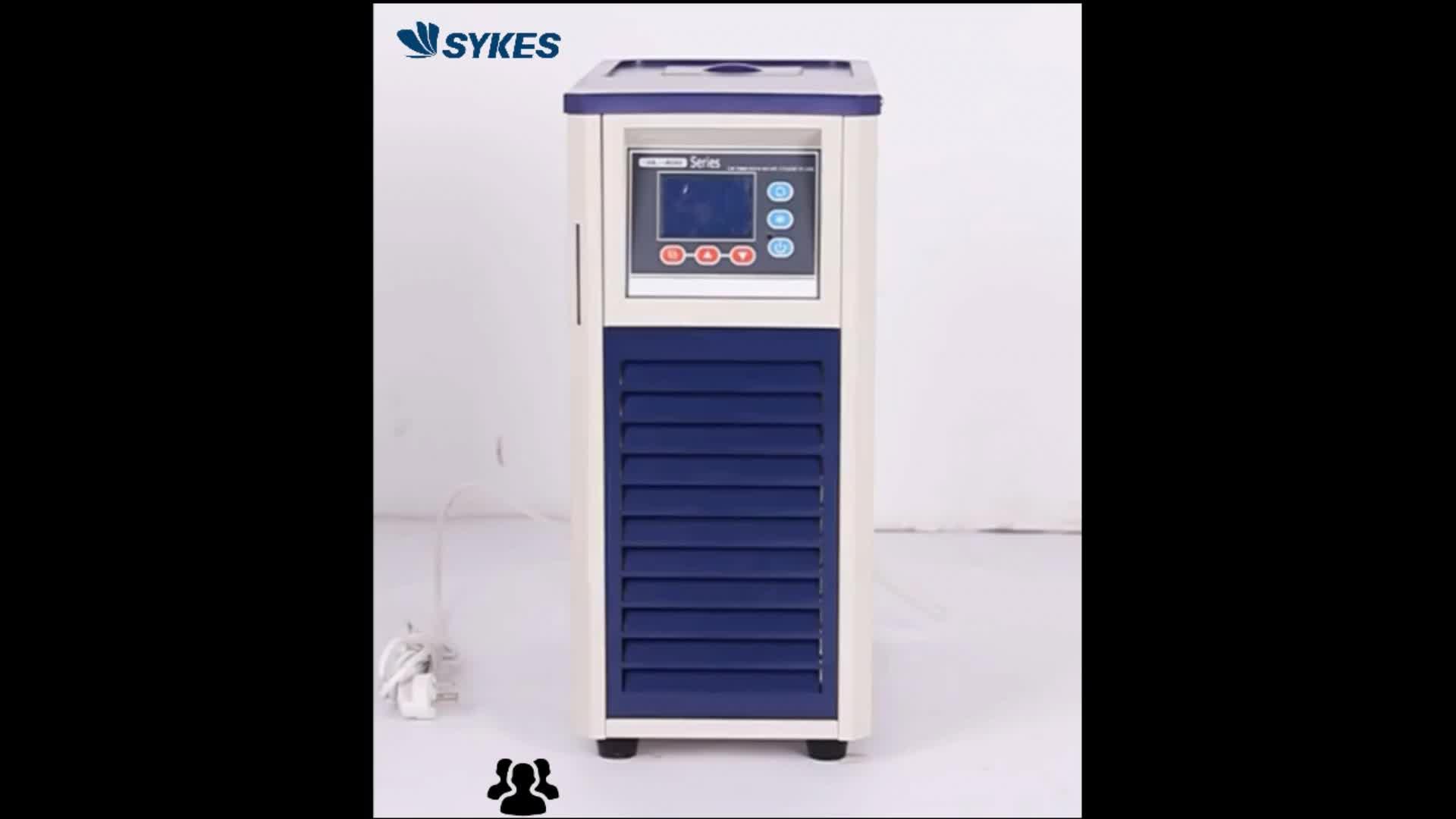 - 15 องศาอุณหภูมิห้อง 3L เดสก์ท็อป Mini Lab Air Cooled รีไซเคิล Chiller สำหรับหมุนขนาดเล็กระเหย