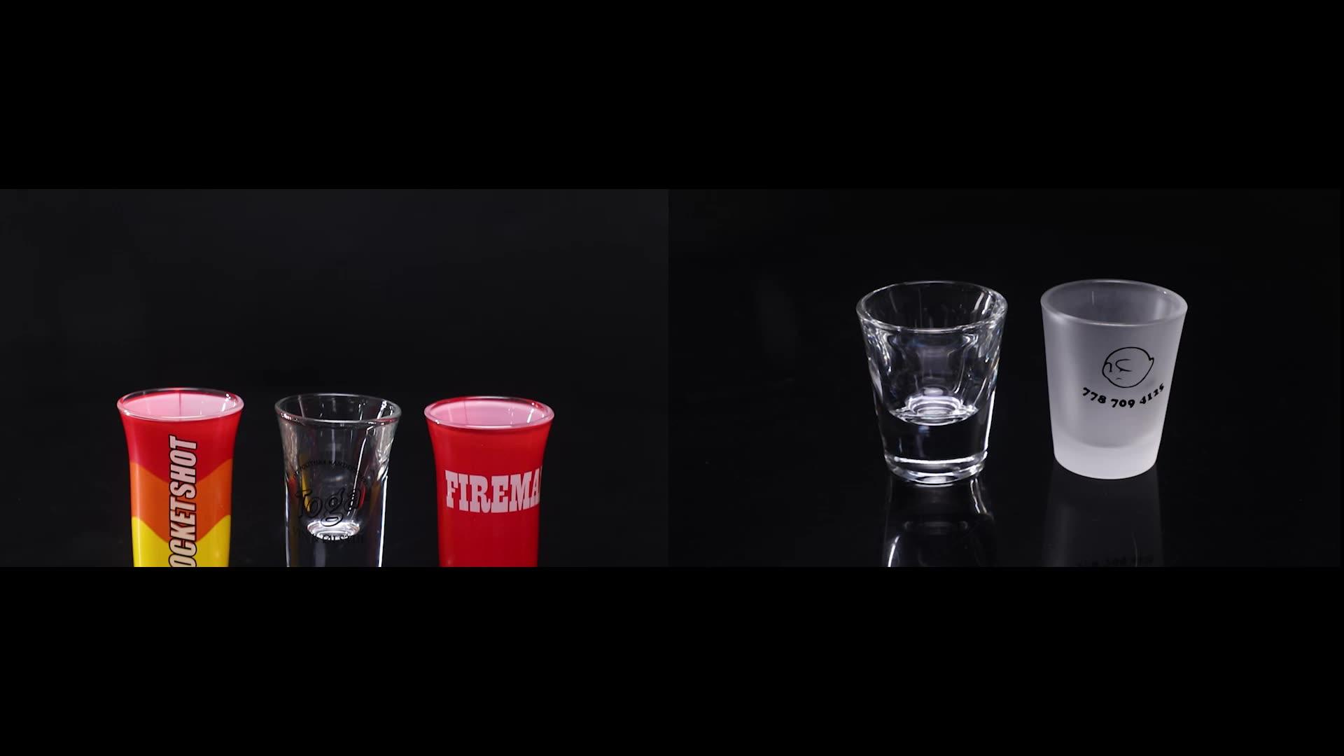 Grosir Kualitas Tinggi Kustom Shot Glasses / Souvenir Gelas Tembakan/Fancy Gelas