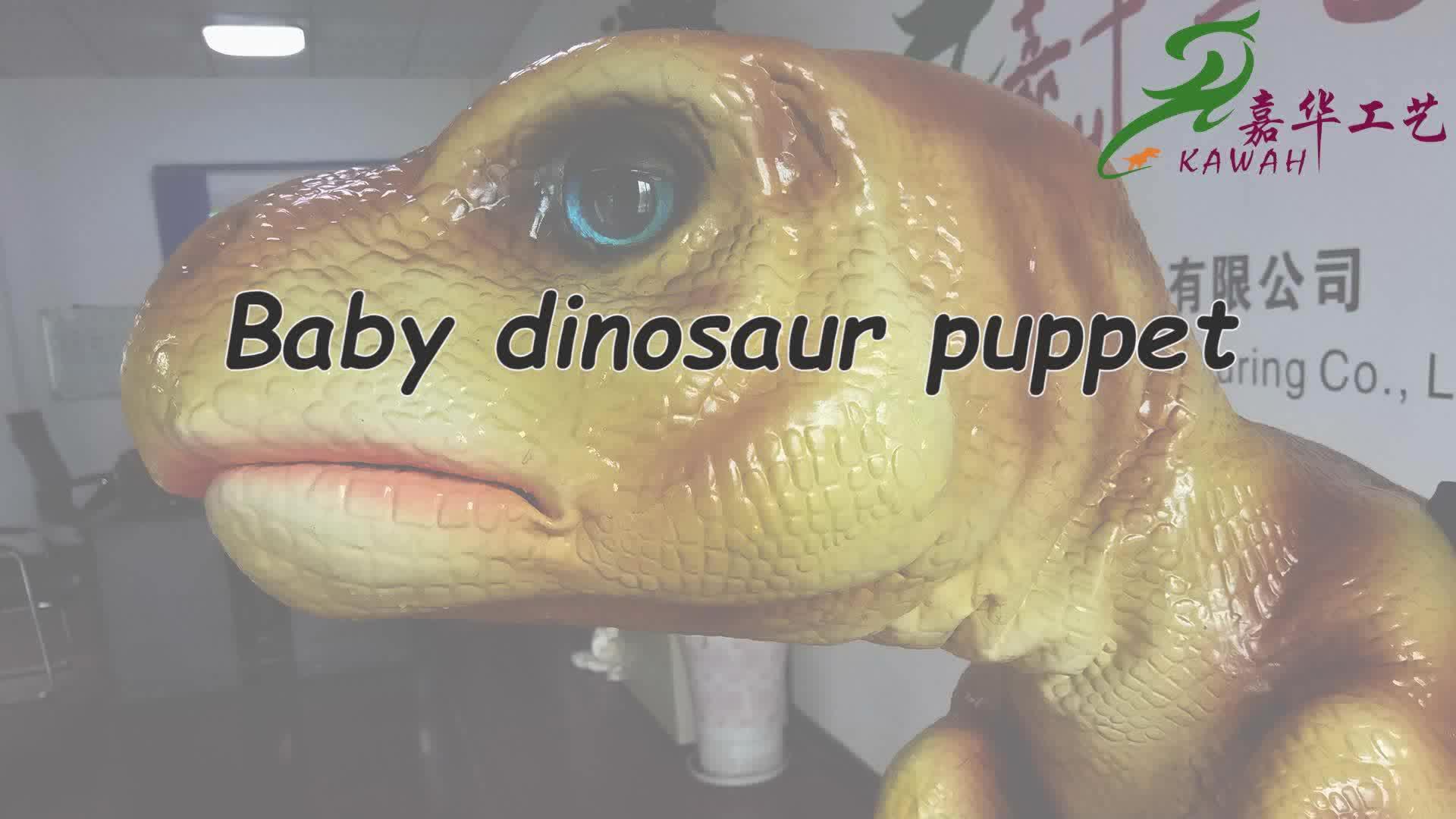 KAWAH OEM realistic dinosaur puppet for sale