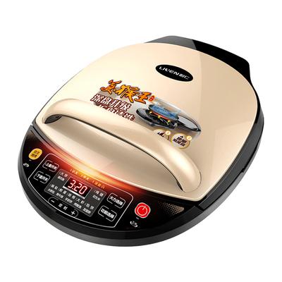 利仁电饼铛家用双面加热可拆洗新款加深加大煎烤煎饼烙饼机3020S