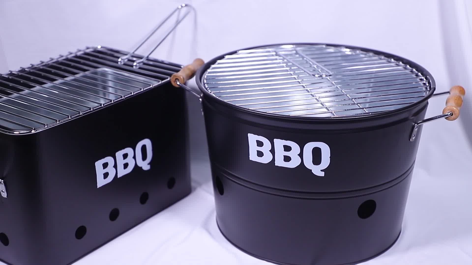 Good Helper Outdoor BBQ Chimney Charcoal Fire Starter with Wooden Handle