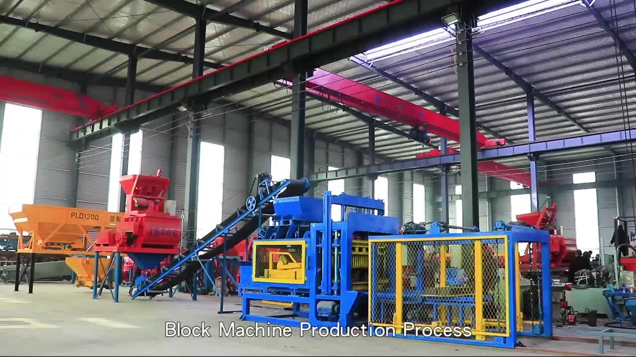 brick machine price QT5-15 concrete brick making machine/concrete interlocking block machine