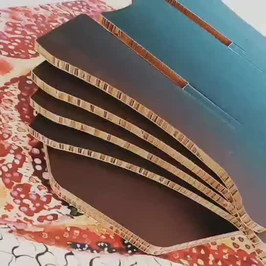 Foldable Recycled honeycomb paperboard for paperboard furniture cardboard furniture