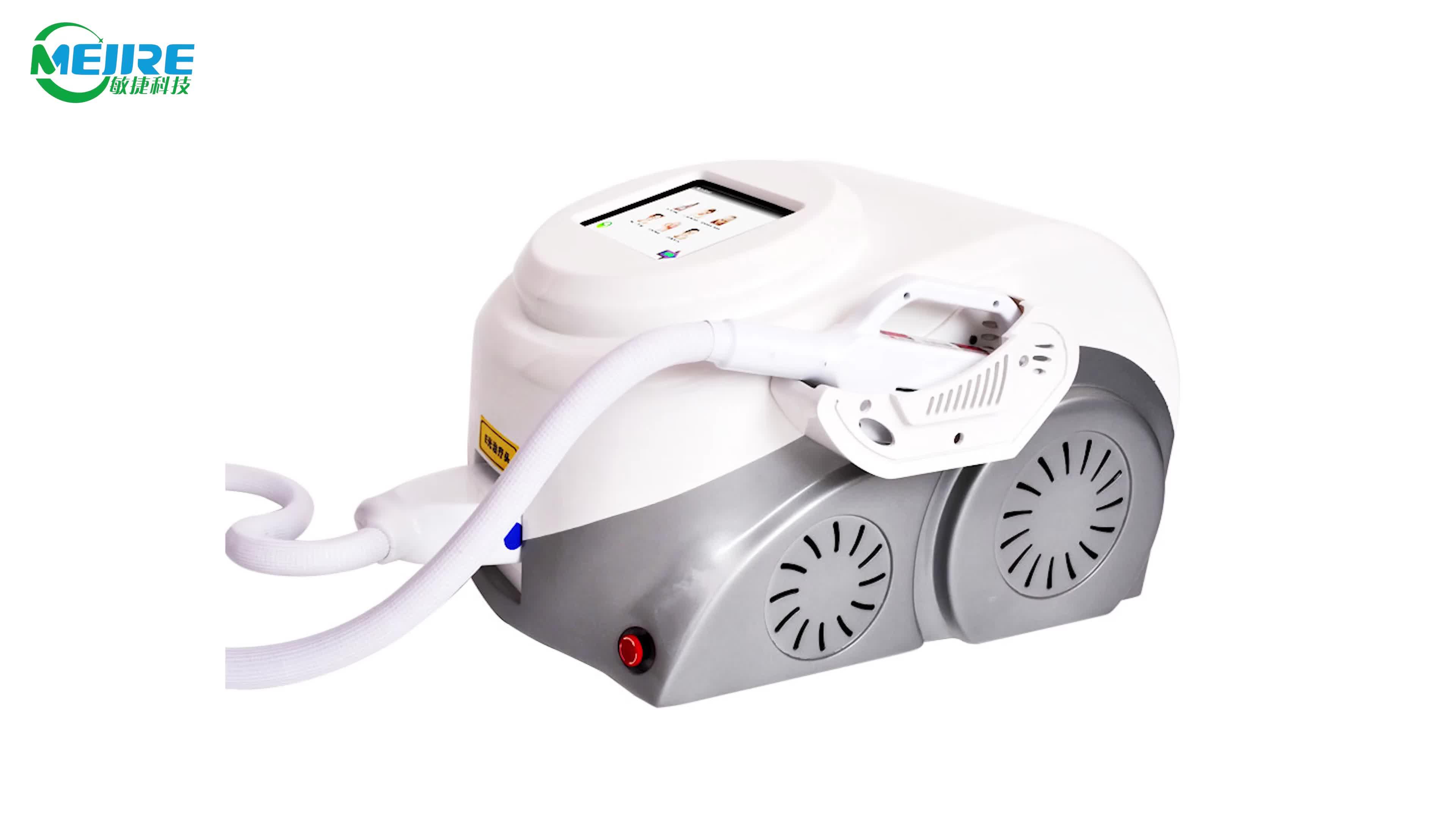 Portable Single Treatment Handles IPL SHR Elight Hair Removal Machine