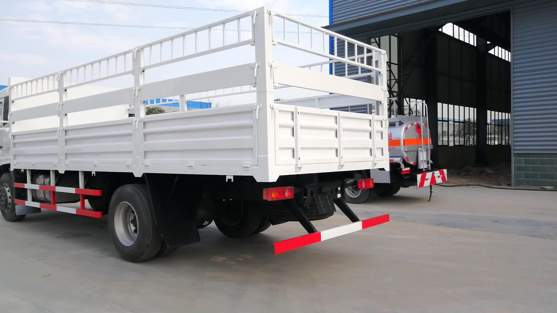 CLW 4x2 3-5 t RHD Light Cargo รถบรรทุกแบนรถบรรทุกสินค้า
