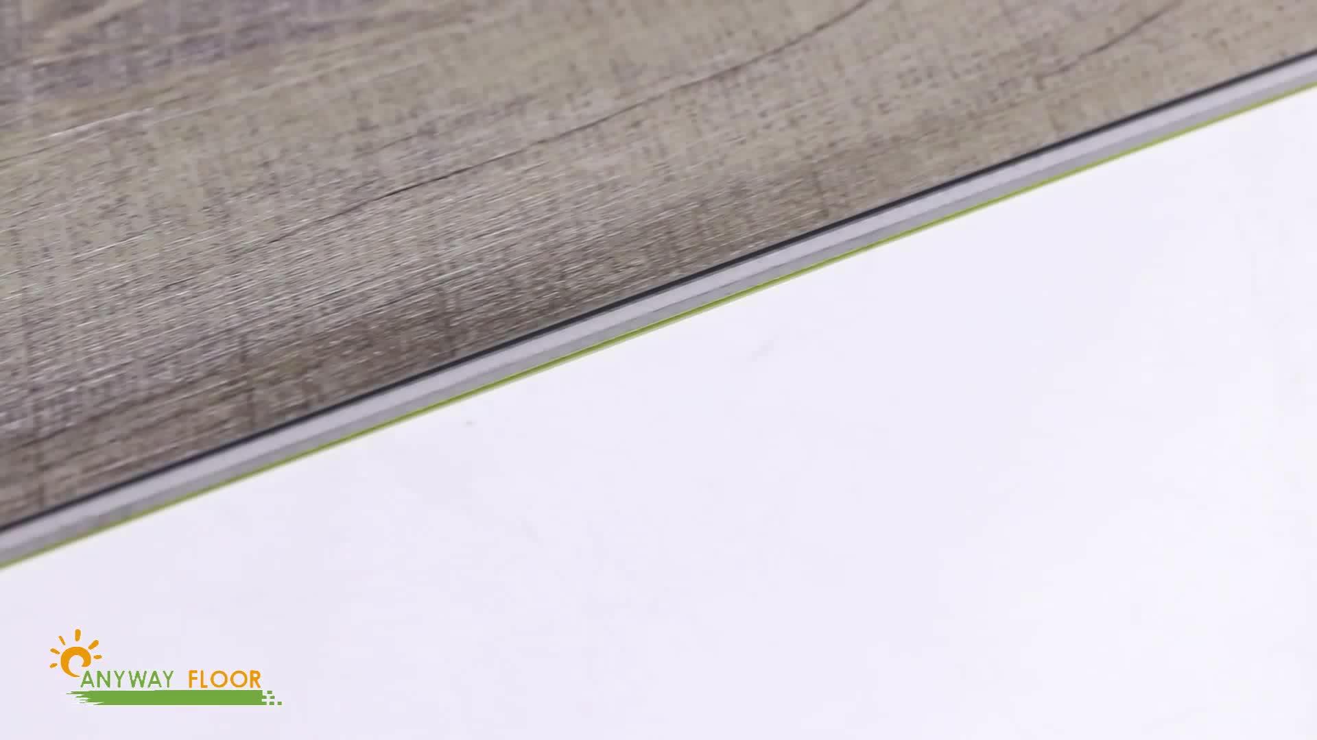 SPC 3.5mm Click Vinyl Floor For Living Room Rigid Core