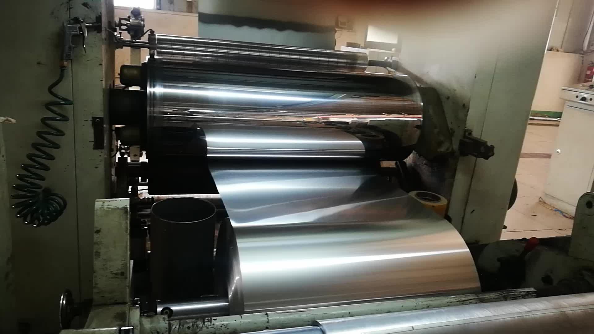 Rolo da folha de alumínio para materiais de construção do telhado da folha de barreira de vapor de calor radiante reflexiva 0.1 milímetros folha de sótão