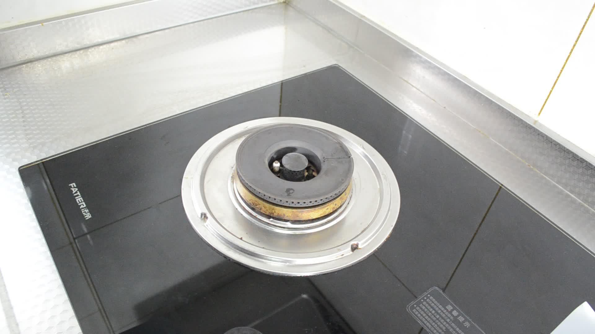 StoveTop 프로텍터-4 Nonstick 중장비 재사용 스토브 가스 버너 라이너-100% PFOA & BPA 무료