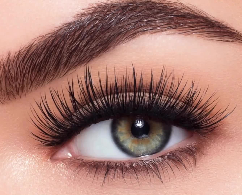 Wholesale Own Brand Custom Logo Makeup Custom Lash Box Real Mink wispy Strip Eyelash 3d Mink Eyelashes