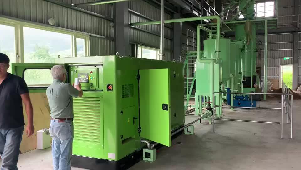 Vergassing process10kw biomassa vergasser voor generator