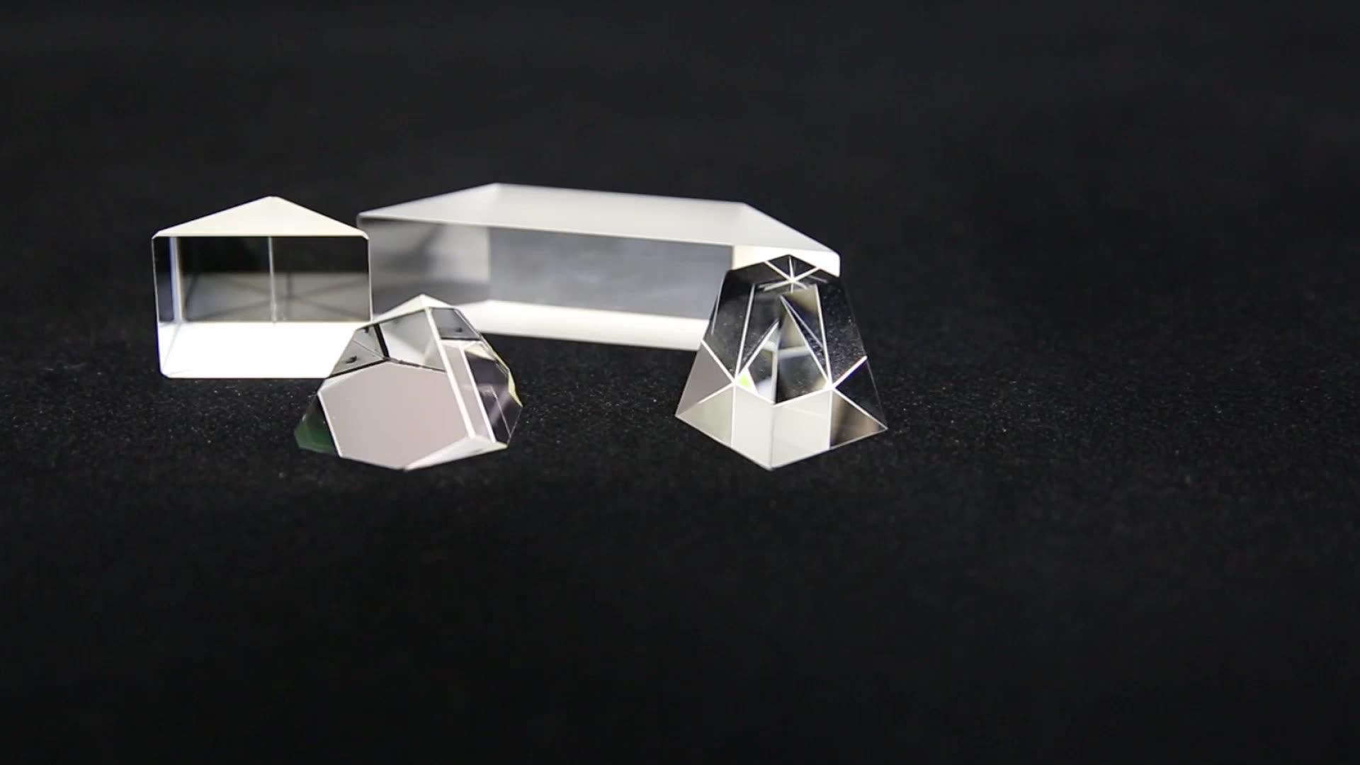 K9 Kaca Optik Pasokan Pabrik Gelas Dove Prisma dengan Lapisan AR