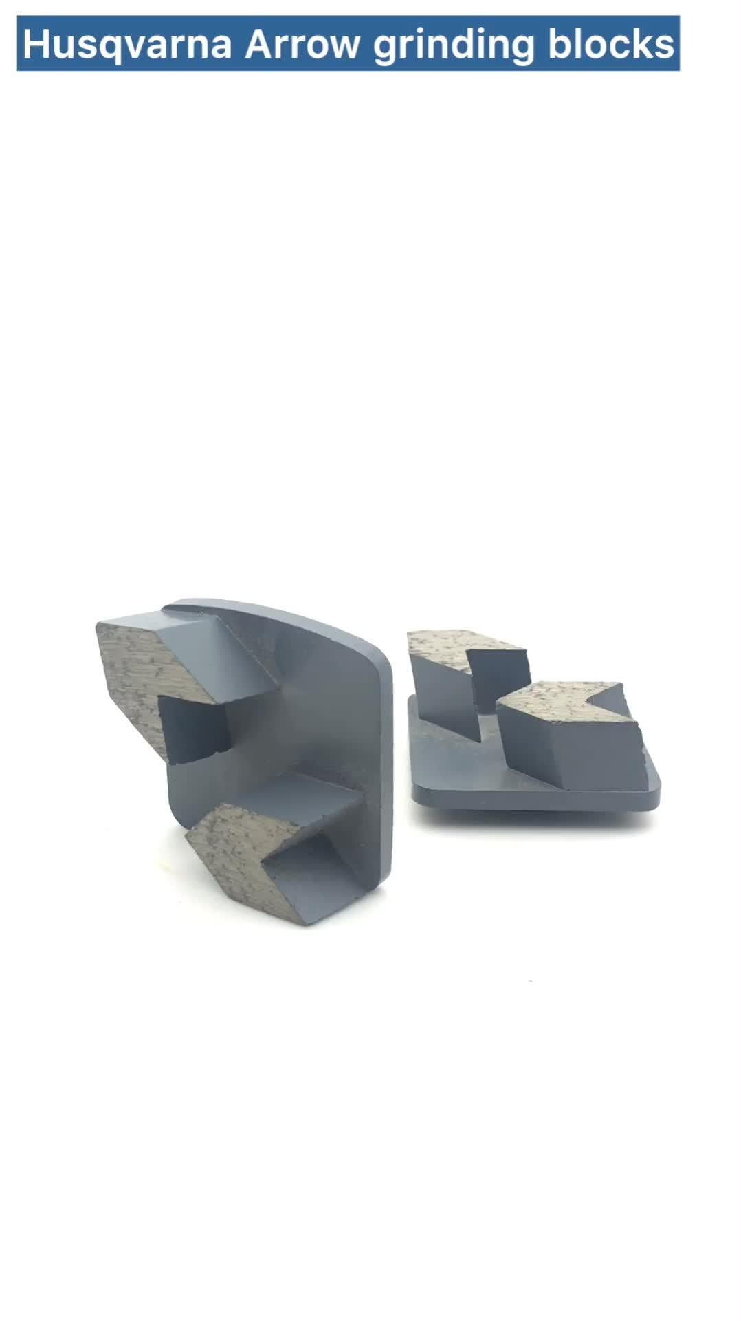 Diamond Concrete Floor Grinding Pads for Husqvarna Redi Lock System HUSQVARNA G1100S Quality