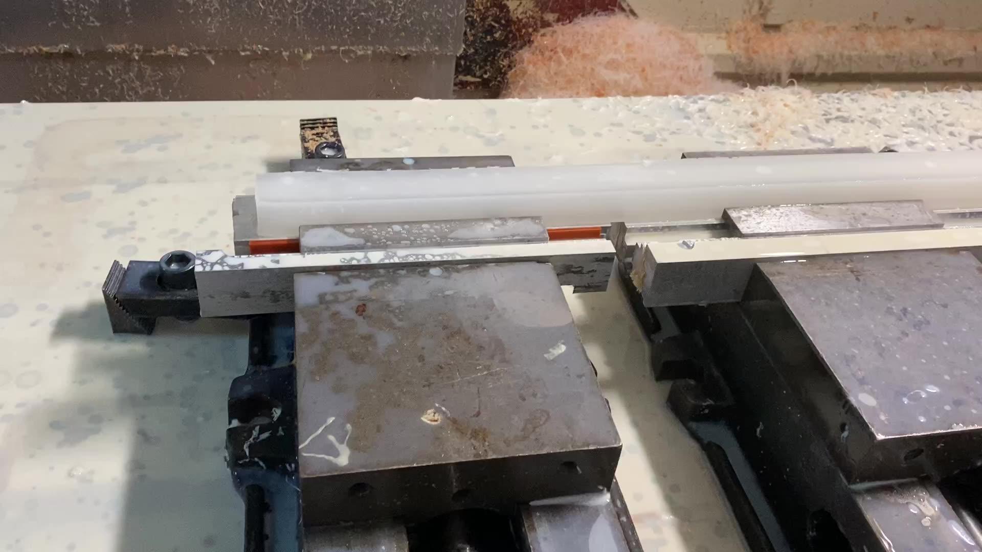 Schnelle lieferung Professional Factory Custom hochwertigen wasserdicht PP Zubehör CNC Kunststoff Teile