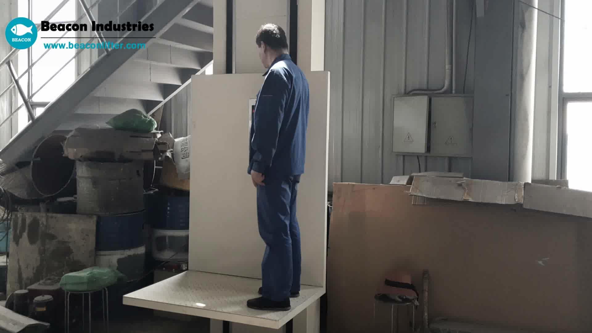 Erste klasse 3m hubhöhe leiter lift für behinderte menschen rollstuhl lift für passagier mit kabine