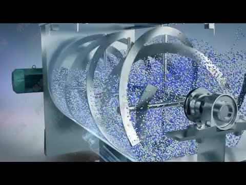 shengli pesticide horizontal ribbon mixer