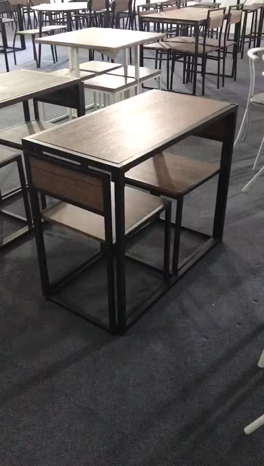 Compact 2 Seat dining Table and chair for dining room,kitchen room furniture Set
