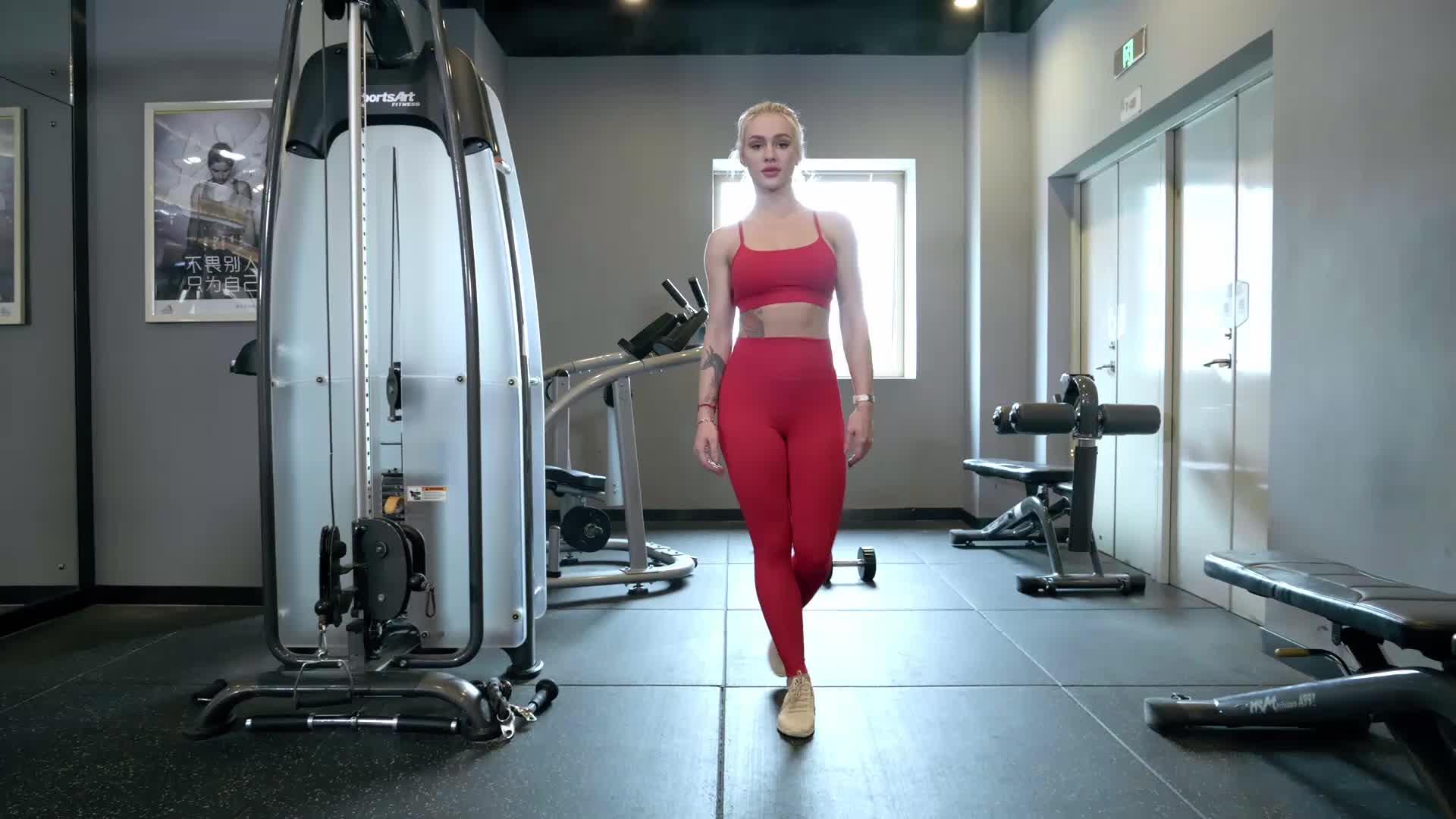 Benutzerdefinierte Bh Top Fitness Tops Butt Bh Sexy Damen Bh Kurze Sätze Womans Sportswear Marke