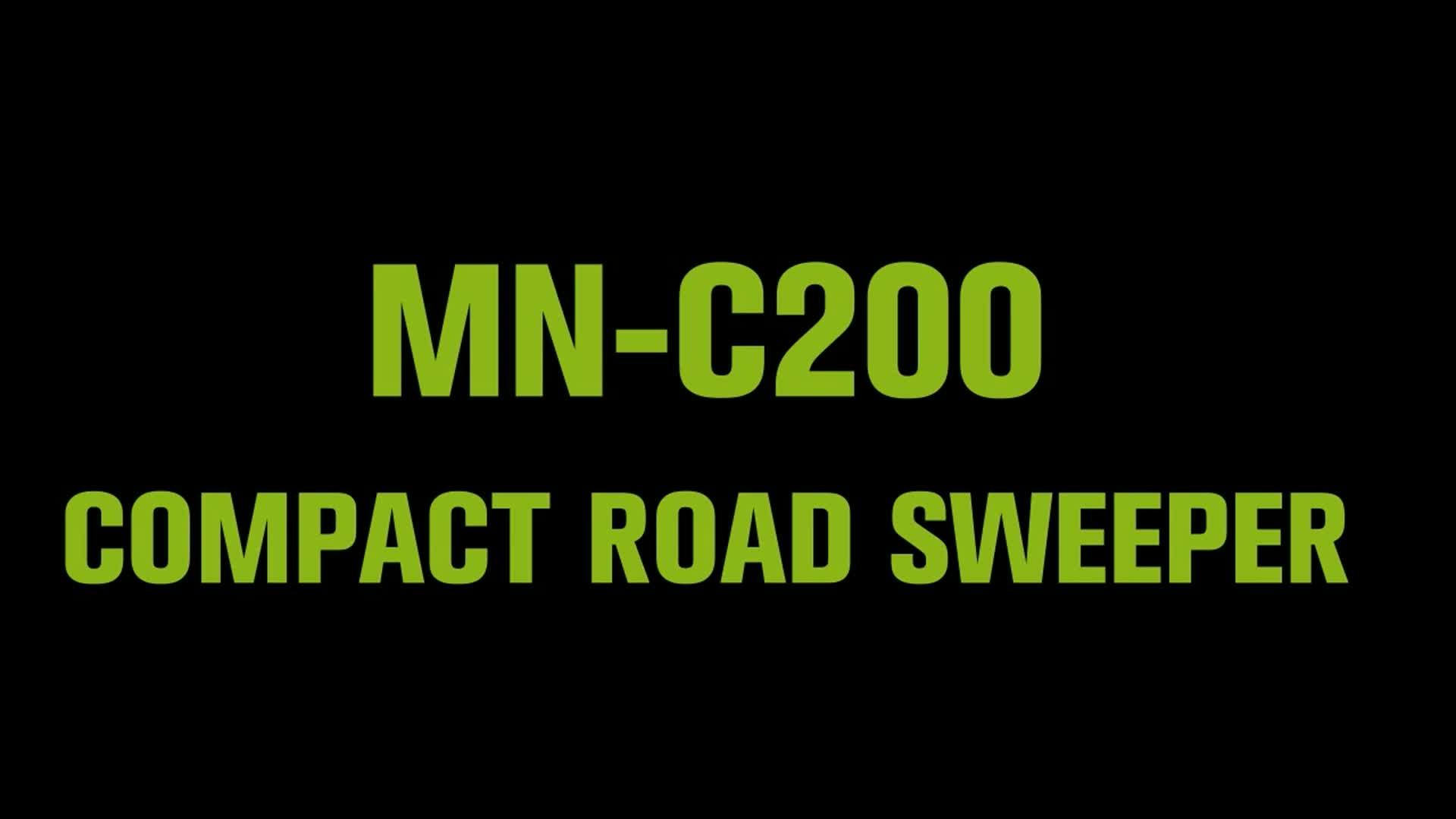 MN-C200 Đi Xe Điện Trên Quét Tầng Sweeper Đường Quét Kho Làm Sạch Sàn Máy