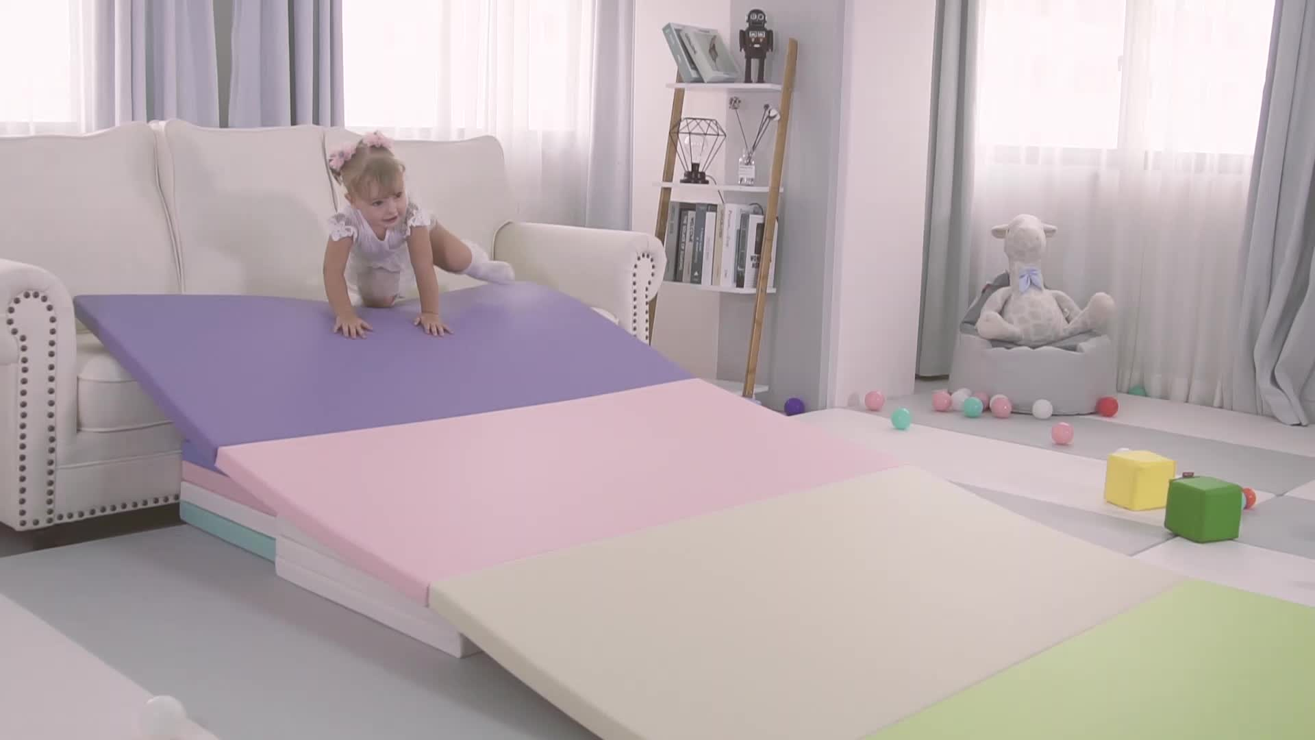 תינוק של עור מפוצל epe קצף הדפסת תנומה מחצלת ילדים הדפסת playmat