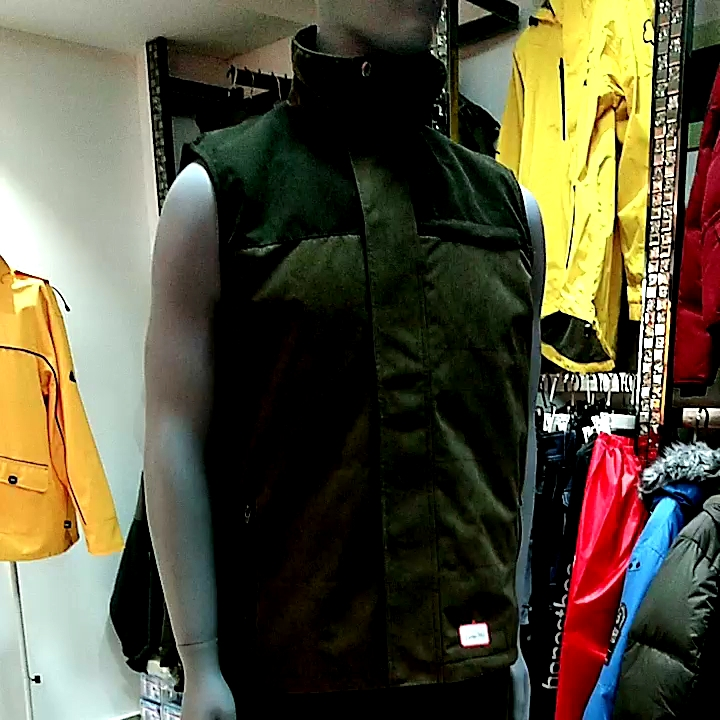 Wholesale custom games active tactical shooting vests in brown for hunter outdoor hunting wear