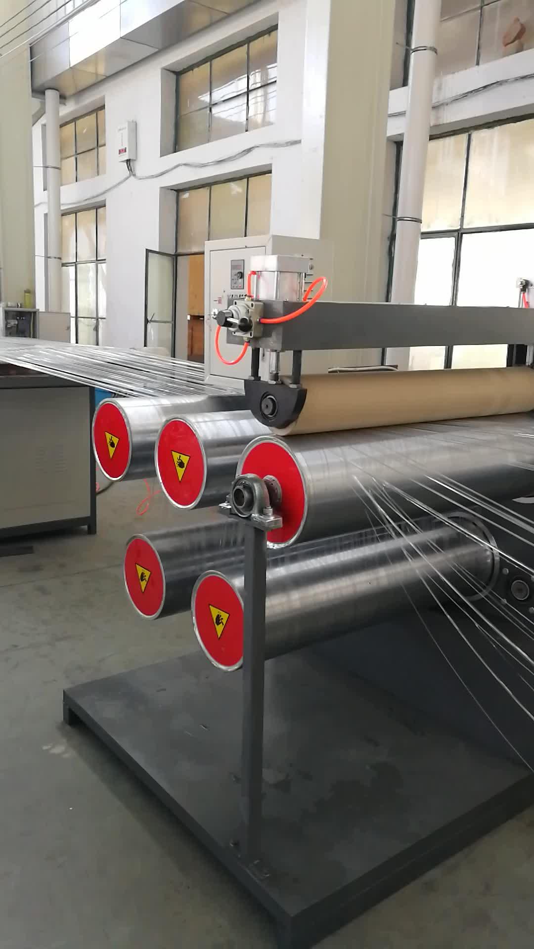 SD-80 pp モノフィラメントフラット糸製造機/pp 糸押出機