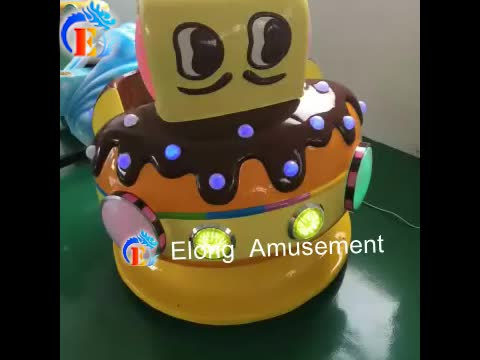 Elong kids ride on car amusement park equipment kiddie ride for sale