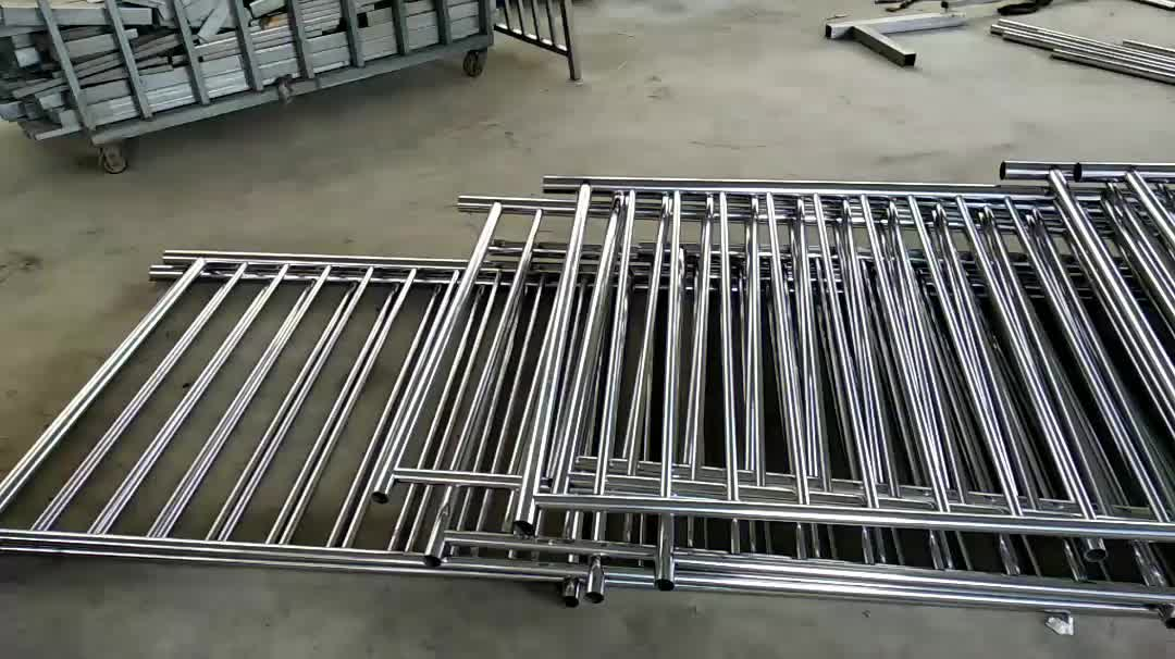 Customized High Quality Ms Square Pipe Balcony Railing ...