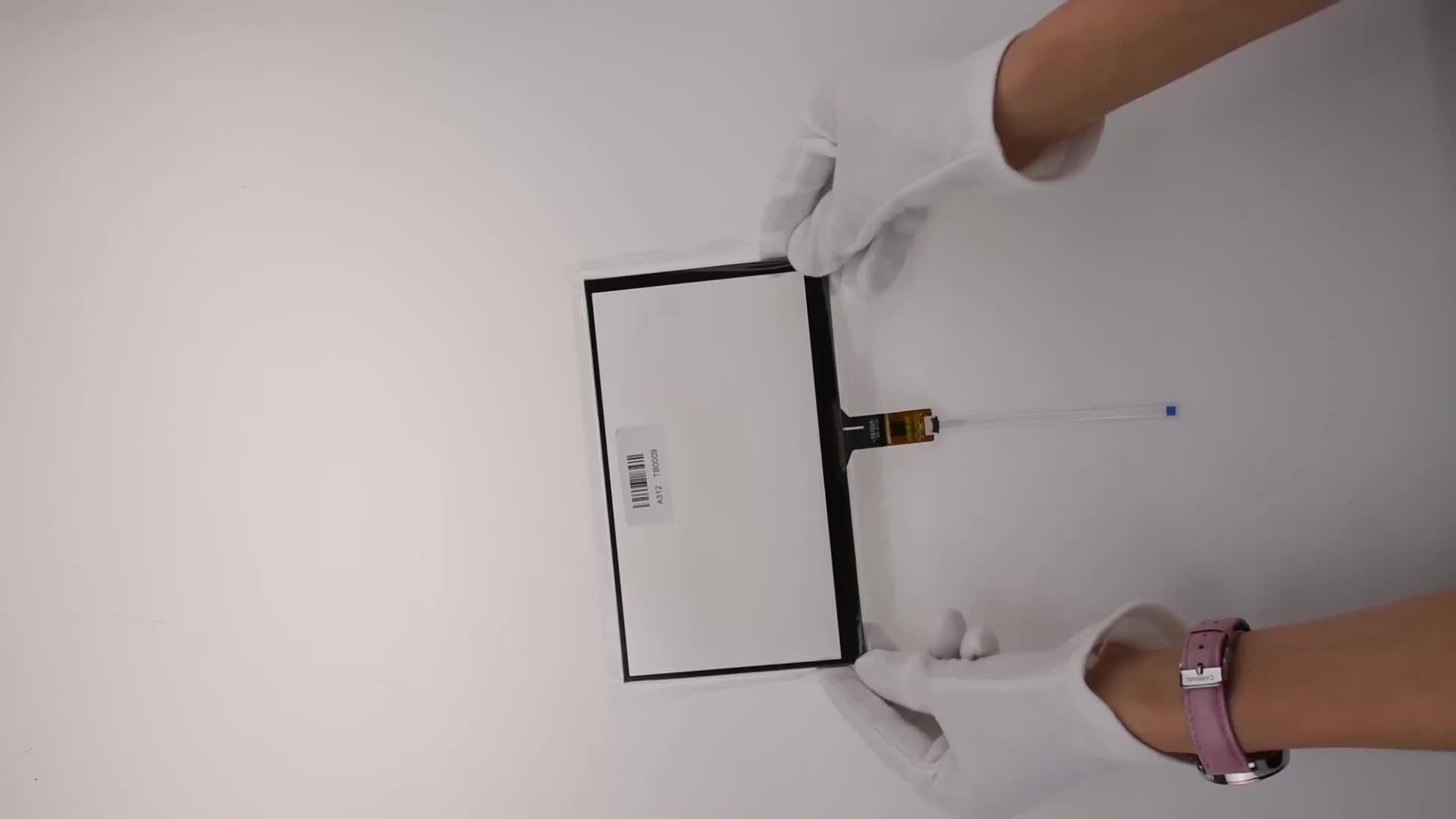 방수 6.2, 7, 8, 9, 10.1, 15 인치 용량 성 터치 스크린 패널