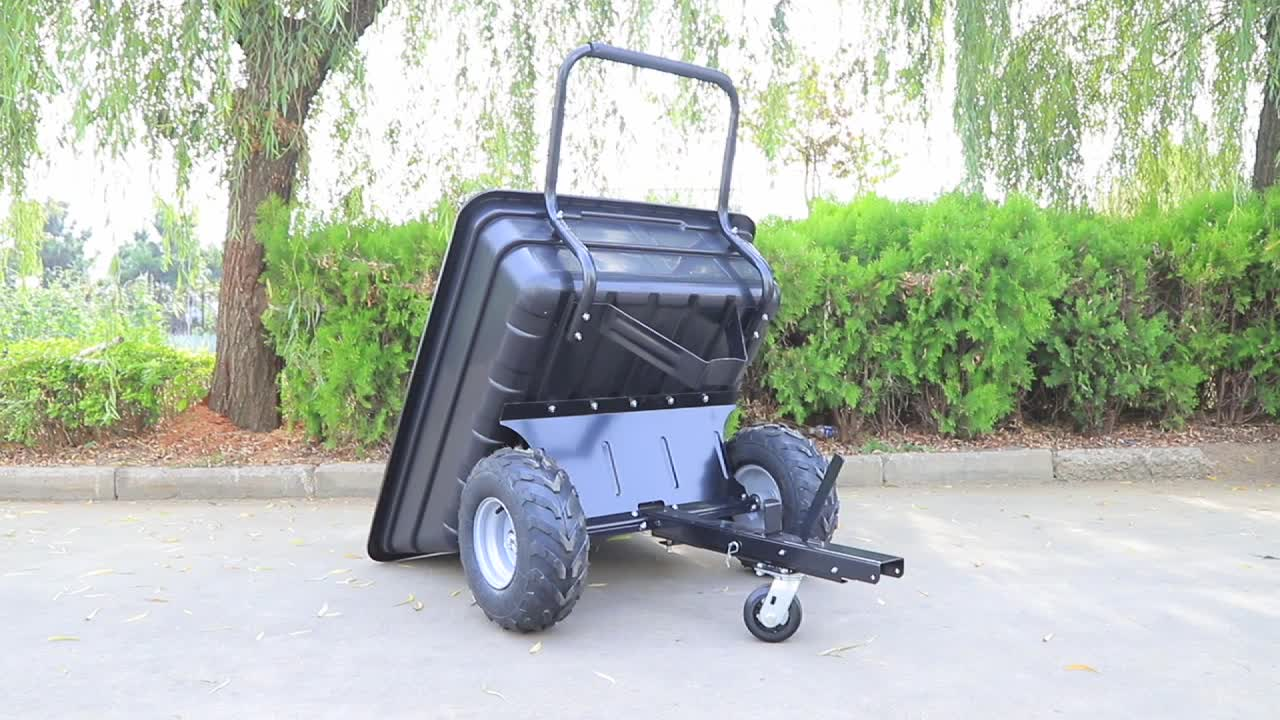 Heavy duty outdoor utility atv rimorchio log