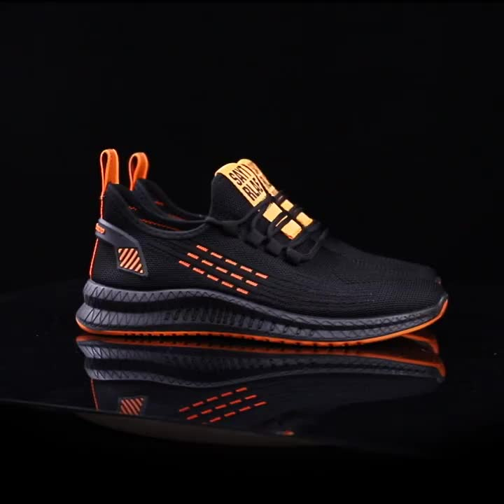 matching color sports casual shoes fashion mens fitness sneaker